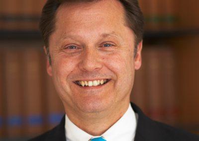 Dr. Klaus Bommersheim, Präsident des Hessischen Volleyballverbandes