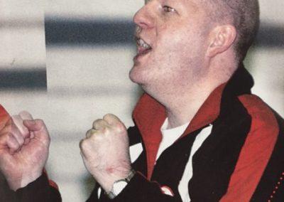 Trainer Peter Liepolt