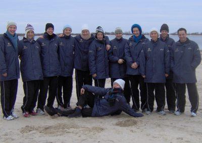 Deutsche Jugend-Nationalmannschaft in der Ukraine